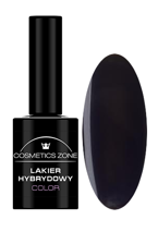 Cosmetics Zone Lakier hybrydowy 033 Black cat 7ml