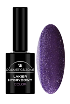 Cosmetics Zone Lakier hybrydowy 089 Glitter purple 7ml
