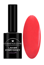 Cosmetics Zone Lakier hybrydowy 161 Coral red 7ml
