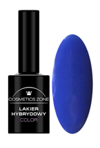 Cosmetics Zone Lakier hybrydowy 185 Parisian blue 7ml