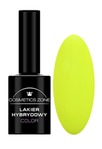 Cosmetics Zone Lakier hybrydowy NEON 12 Neon Intense Yellow 7ml