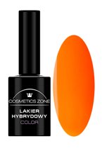 Cosmetics Zone Lakier hybrydowy NEON 4 Neon orange 7ml