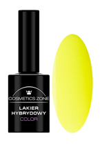 Cosmetics Zone Lakier hybrydowy NEON 5 Neon yellow 7ml