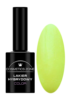 Cosmetics Zone Lakier hybrydowy NEON 8 Neon Glitter Yellow 7ml