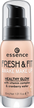 Essence Fresh&Fit Podkład do twarzy 30 Fresh Honey 30ml