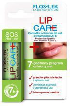 FlosLek LIP CARE Pomadka ochronna do ust z witaminami A i E