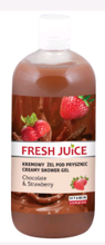 Fresh Juice Żel Pod Prysznic Chocolate&Strawberry 500ml