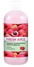 Fresh Juice Żel pod prysznic Lychee&Raspberry 500ml