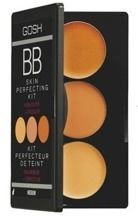 GOSH BB Skin Perfecting Kit - Paleta BB korektorów z rozświetlaczem, 02 Medium