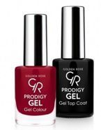 Golden Rose Prodigy Gel Duo - Zestaw Top Coat + Lakier do paznokci 19