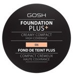 Gosh Foundation Plus Creamy Compact Podkład w kompakcie 006 Honey 9g