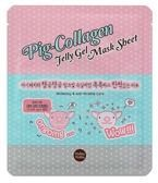 Holika Holika Pig-Collagen Jelly Gel Mask Sheet - Hydrożelowa maska w dwóch płatach