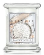 Kringle Candle Medium Classic Bakers Vanilla - Słoik świeca średnia 240g