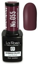 La Rosa Gel Polish Hybrid Color Lakier hybrydowy 055 10ml