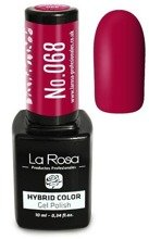La Rosa Gel Polish Hybrid Color Lakier hybrydowy 068 10ml