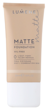 Lumene Matt Control Oil-Free Foundation - Podkład matujący 0 Light Ivory, 30 ml