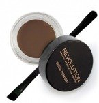 Makeup Revolution Brow Pomade - Pomada do brwi Dark Brown 2,5g