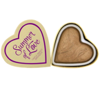 Makeup Revolution I Heart Makeup Blushing Hearts-Summer of Love Bronzer