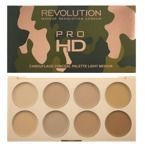 Makeup Revolution PRO HD Camouflage Conceal Palette - Paletka korektorów LIGHT MEDIUM