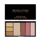 Makeup Revolution Protection Palette Contouring Kit - Paleta do konturowania twarzy Medium, 29,7 g