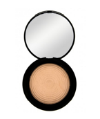 Makeup Revolution Radiant Lights Baked Highlighter - Wypiekany rozświetlacz do twarzy Breathe, 12 g