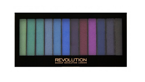 Makeup Revolution Redemption Palette Paleta 12 cieni do powiek  Mermaids vs Unicorns