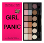 Makeup Revolution Salvation Palette - Paleta 18 cieni do powiek Girl Panic