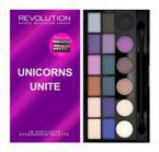 Makeup Revolution Salvation Palette - Paleta 18 cieni do powiek Unicorn Unite
