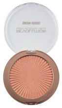 Makeup Revolution Skin Kiss Peach Kiss Highlighter - Rozświetlacz do twarzy