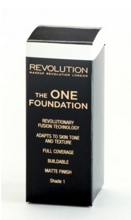 Makeup Revolution The One Foundation - Podkład w płynie do twarzy Shade 1, 29 ml