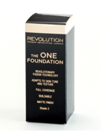 Makeup Revolution The One Foundation - Podkład w płynie do twarzy Shade 2, 29 ml