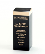 Makeup Revolution The One Foundation - Podkład w płynie do twarzy Shade 4, 29 ml