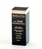 Makeup Revolution The One Foundation - Podkład w płynie do twarzy Shade 5, 29 ml