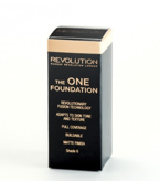 Makeup Revolution The One Foundation - Podkład w płynie do twarzy Shade 6, 29 ml