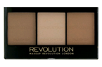 Makeup Revolution Ultra Brightening Light/Medium- Zestaw do konturowania C04