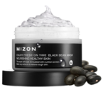 Mizon Enjoy Fresh-On Time Black Bean Mask - Maska do twarzy - Czarna Fasola 100ml