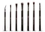 NANSHY Eye Brush Set Onyx Black 7 pędzli