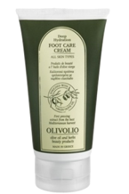 Olivolio Olive Foot Care Cream - Krem do stóp z kwasem hialuronowym 150ml