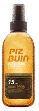 Piz Buin Wet Skin Transparent Sun Spray SPF15 Spray do opalania 150ml