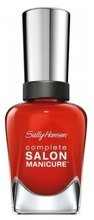 Sally Hansen Complete Salon - Lakier do paznokci 5w1, kolor: All Fired Up