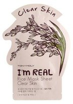 TonyMoly I`m Real Rice Mask Sheet Clear Skin Maska do twarzy w płachcie