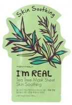 TonyMoly I`m Real Tea Tree Mask Soothing Maska do twarzy w płachcie