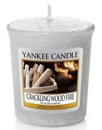 Yankee Candle Sampler Świeca Crackling Wood Fire 49g