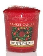 Yankee Candle Sampler Świeca Red Apple Wreath 49g