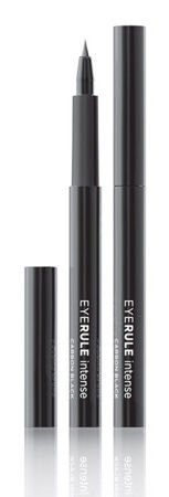 Ace Of Face Eye Rule Intense Carbon Black Waterproof Eyeliner - Wodoodporny, czarny eyeliner w pisaku, 3 ml