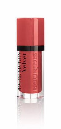 Bourjois Rouge Edition Velvet - Matowa pomadka do ust 04 Peach Club, 6,7 ml