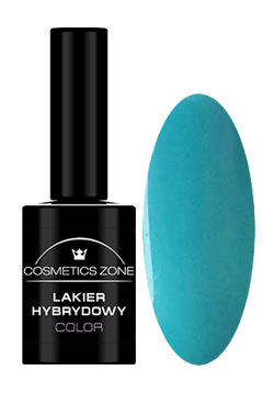 Cosmetics Zone Lakier hybrydowy 124 Tropic blue 7ml