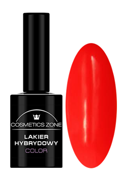 Cosmetics Zone Lakier hybrydowy NEON 10 Neon Red7ml