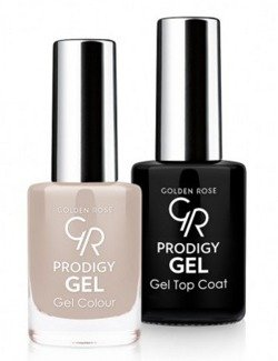 Golden Rose Prodigy Gel Duo - Zestaw Top Coat + Lakier do paznokci 03