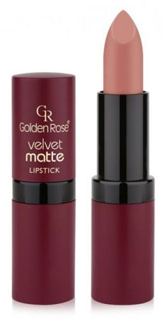 Golden Rose Velvet matte lipstick Matowa pomadka do ust 01